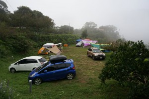 B區露營實景